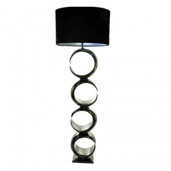 Vloerlamp Paris zwart 155cm