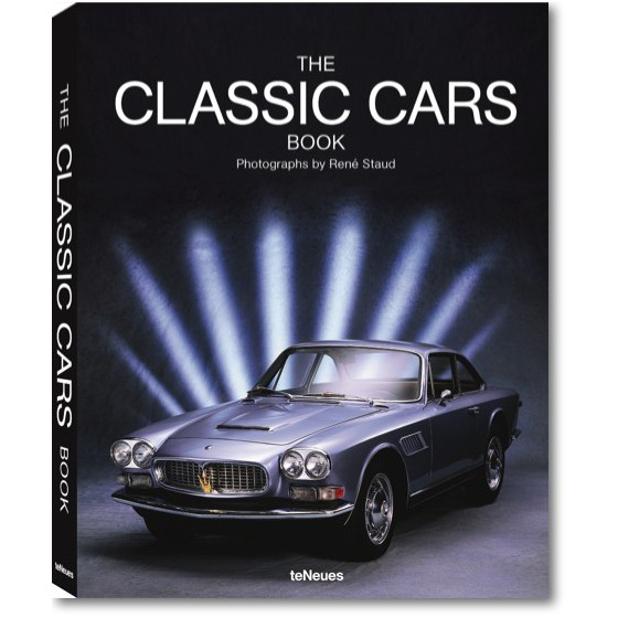 Koffietafel boek THE CLASSIC CARS BOOK - SMALL EDITION