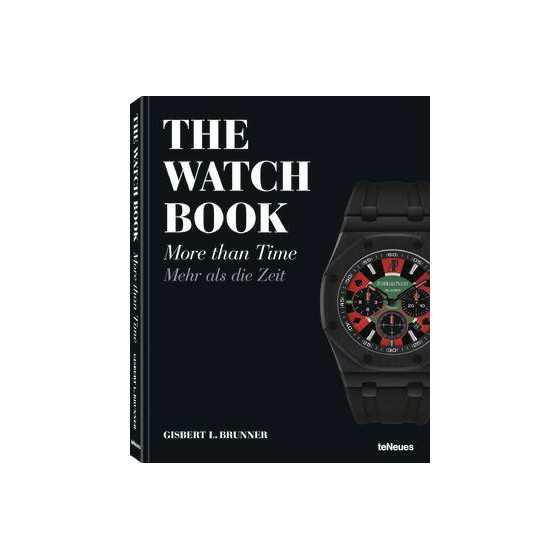 Koffietafel boek THE WATCH BOOK, MORE THAN TIME BY GISBERT L. BRUNNER