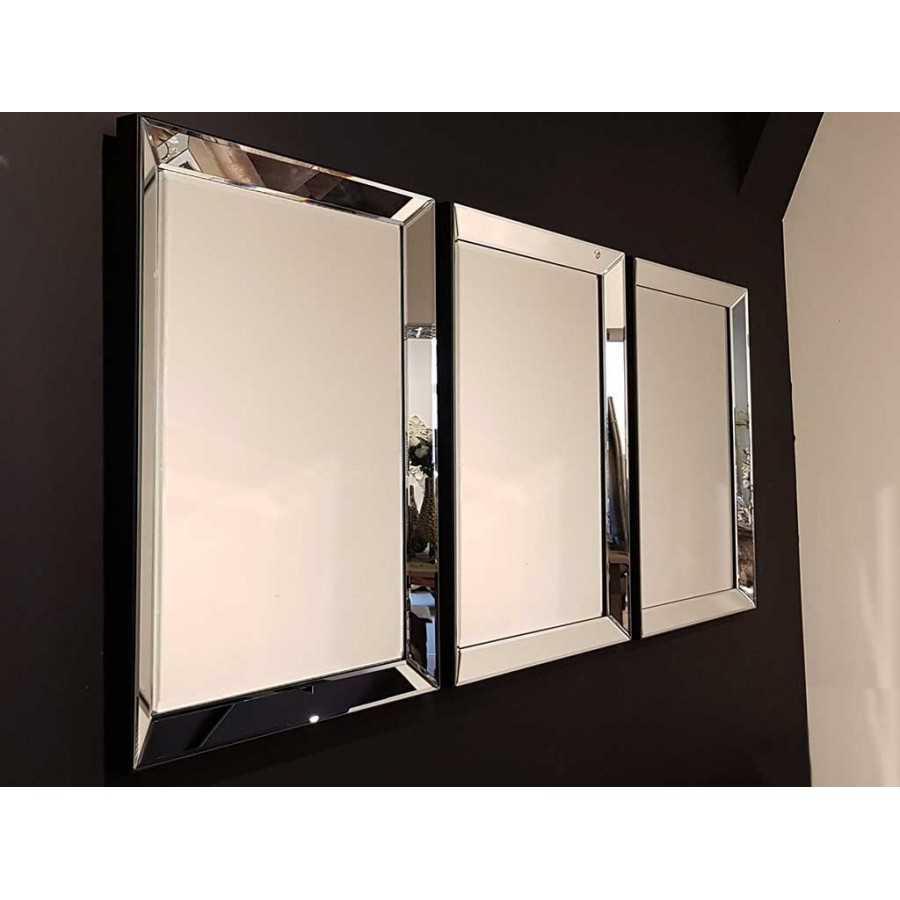 Spiegel Met Spiegellijst.Eric Kuster Stijl Spiegel Met Spiegellijst Zilver 80x60cm Kopen