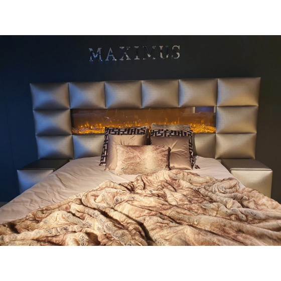 Woondeken | Bedsprei XL | Imitatie bont plaid 240x220cm