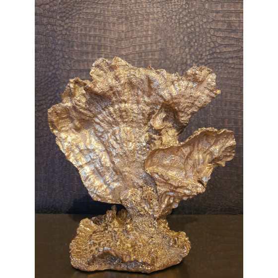 staand XL Koraal goud 15x25cm