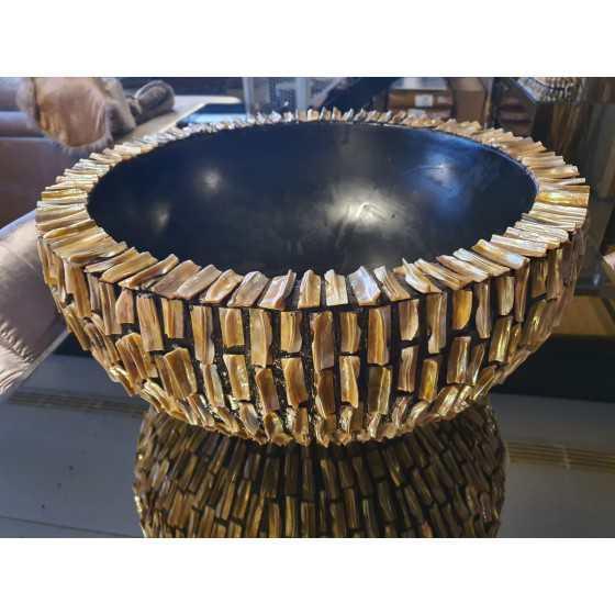 Schelpenvaas Rough Shell Bowl laag 60x28cm