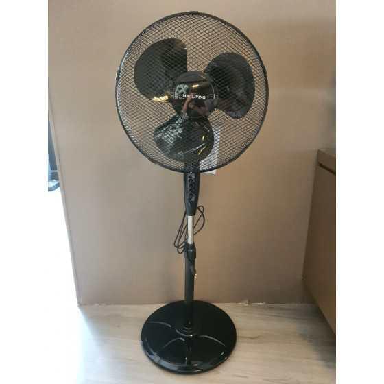 Ventilator zwart 3 standen...