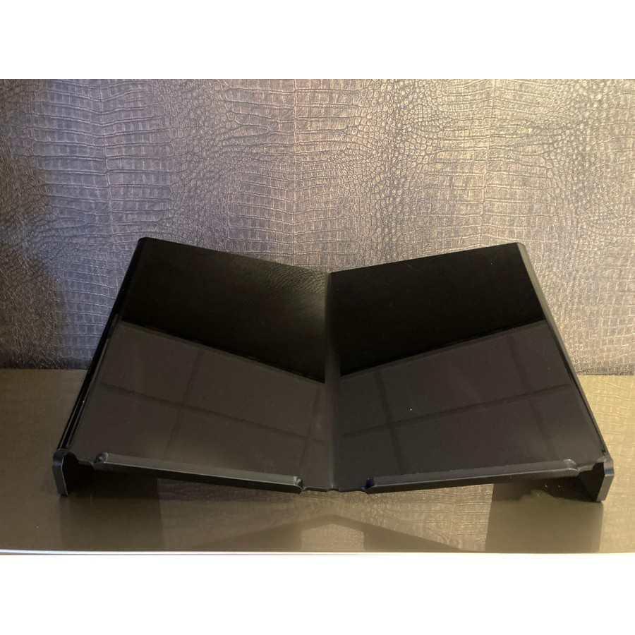 Boekensteun XL zwart 50x40